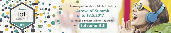 Arrow IoT-Summit toukokuussa 2017